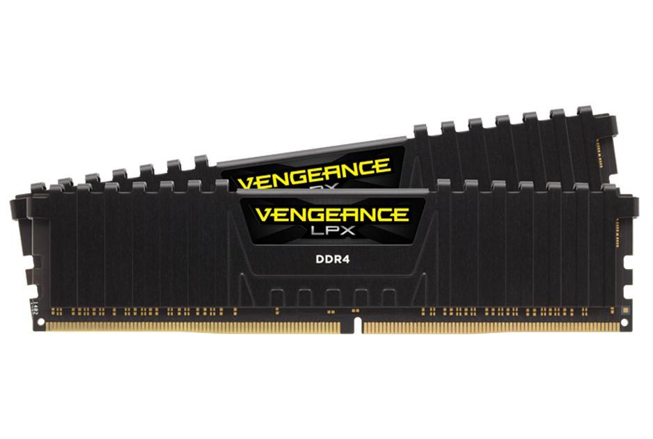 Corsair Vengeance LPX 16GB DDR4-2400 (2x8GB) kit - Black, CL16, 1 2V