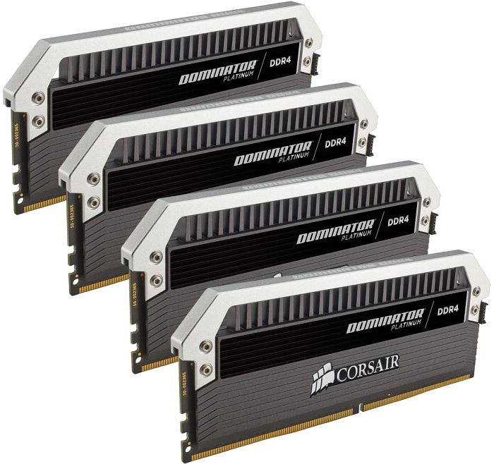 Corsair Dominator Platinum 32GB DDR4-2400 (4x8GB) Kit - CL12, 1 2V