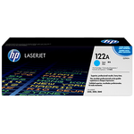 HP 122A Original LaserJet Toner Cartridge - Cyan (Q3961A)