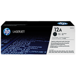 HP 12A Original LaserJet Toner Cartridge - Black (Q2612A)