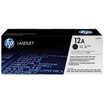 HP 12A Original LaserJet Toner Cartridge - Black (Q2612A)