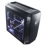 BitFenix Aegis Chassis - Black (No-PSU, micro-ATX, ICON Display)