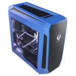 BitFenix Aegis Chassis - Blue (No-PSU, micro-ATX, ICON Display)
