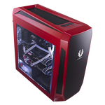 BitFenix Aegis Chassis - Red (No-PSU, micro-ATX, ICON Display)