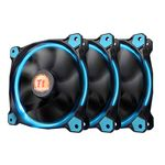 Thermaltake Riing 12 - 120mm Blue LED Fans - 3x Fans