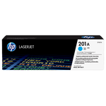 HP 201A Original LaserJet Toner Cartridge - Cyan (CF401A)
