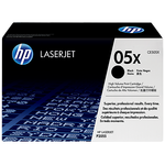 HP 05X Original LaserJet Toner Cartridge - High Yield, Black (CE505X)