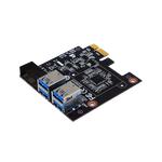 Biostar 4-Port PCI-E 1x Crypto Mining Riser Card