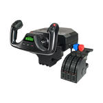 Logitech G Flight Yoke System - Professional Yoke And Throttle Quadrant