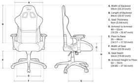 Cougar Armor Gaming Chair - Black