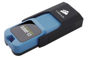 Corsair 256GB Flash Voyager Slider X2 USB 3.0 Flash Drive