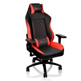 Thermaltake eSports GT Comfort 500 Gaming Chair - Black/Red