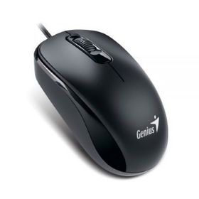Genius DX-110 Optical Mouse - Black, USB