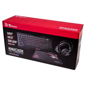 Thermaltake eSports Knucker 4-in-1 Gaming Kit