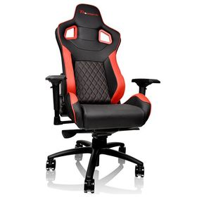 Thermaltake eSports GT Fit 100 Gaming Chair - Black/Red