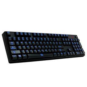 Thermaltake eSports Poseidon Z Illuminated Gaming Keyboard - Blue LED Edition
