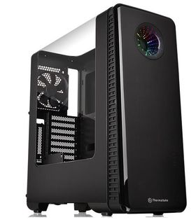 Thermaltake View 28 RGB Gull-Wing Mid-Tower Chassis (No-PSU, ATX, Window)