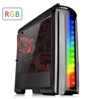 Thermaltake Versa C22 RGB Mid-Tower Chassis (No-PSU, ATX, Window)