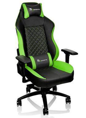 Thermaltake eSports GT Comfort 500 Gaming Chair - Black/Green