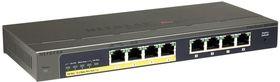 Netgear GS108PE-300EUS 8-Port (4 PoE) Gigabit Managed Switch